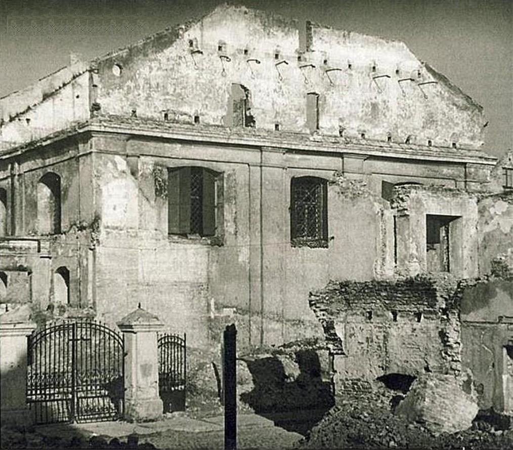 The Great Synagogue before the demolition