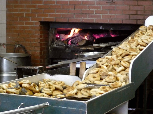 The Wood Fired Bagel Oven