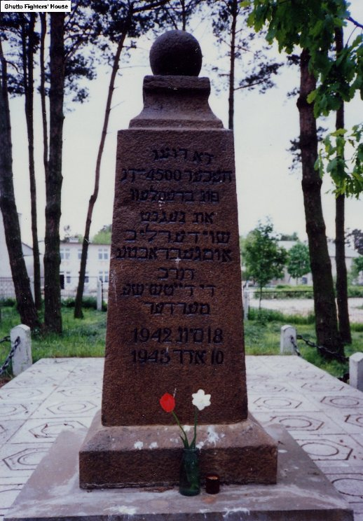 The Memorial in Braslav