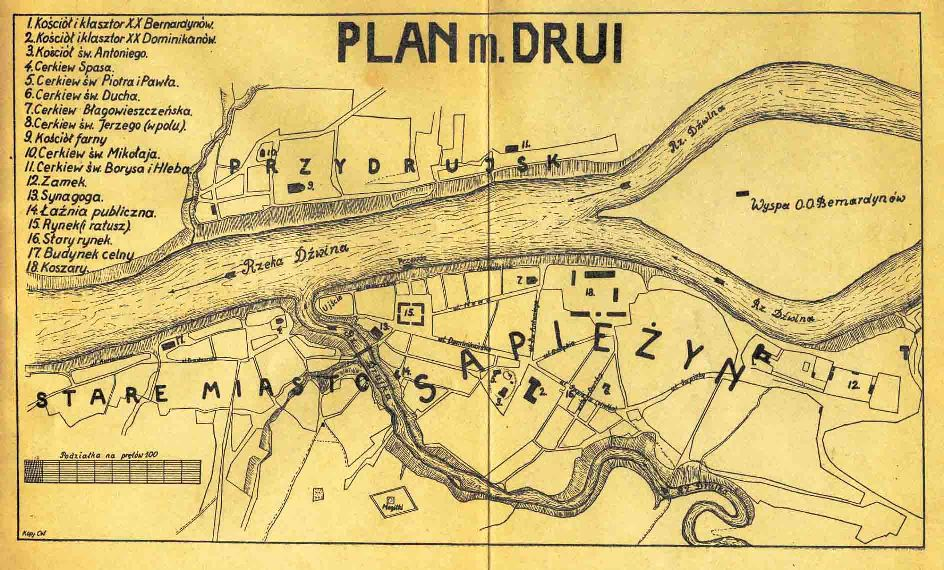 Map of Druya
