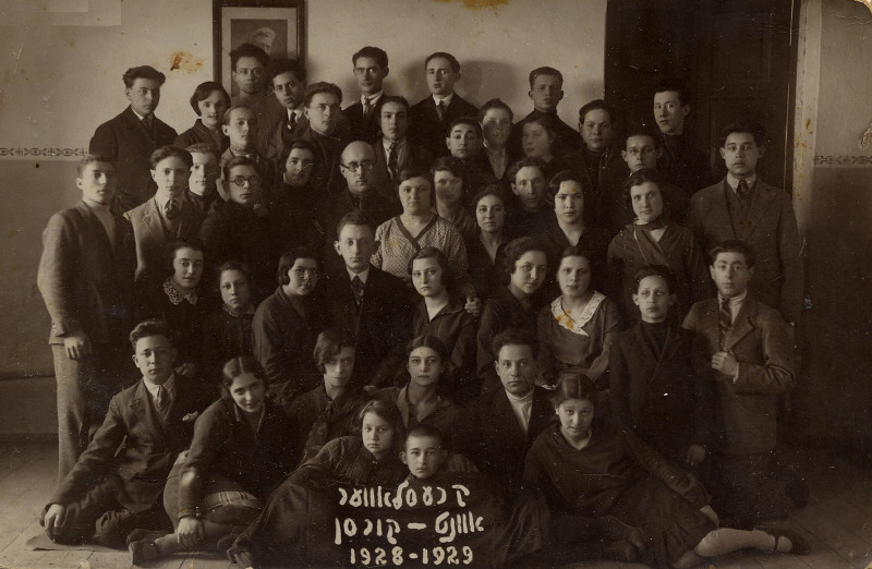Jewish Teachers Course  - 1928