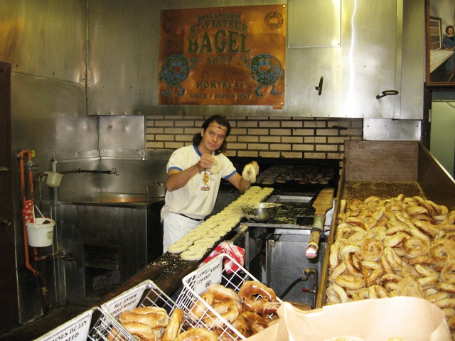 The Bagler, his Oven and his Bagels