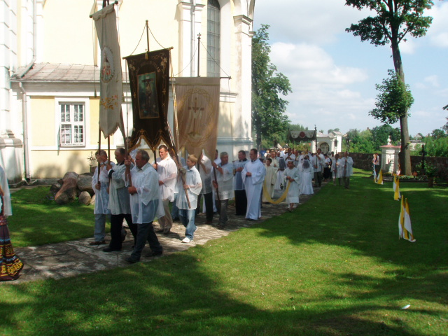 Procession around the Church