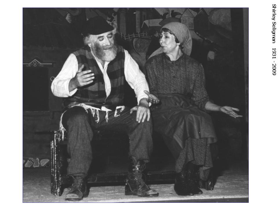 Tevye and Goldeh