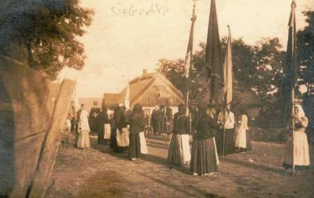 Church Parade in Slobodka - 1916