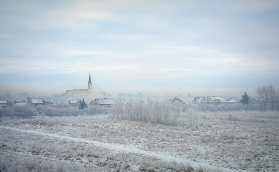 Winter Scene of Kretinga
