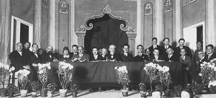 YIVO conference - Vilna 1929