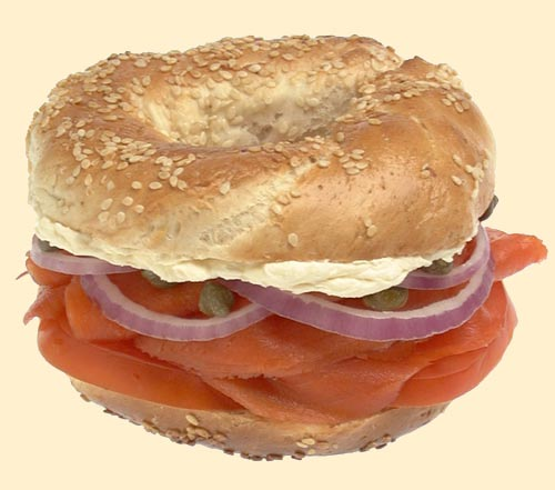 The Ultimate Bagel with Cream Cheese and Laks