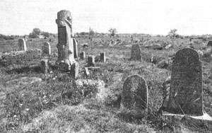 Jewish Cemetery Prior to Desecration