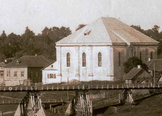 Druya Synagogue and Bridge