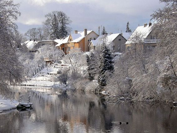 Winter Scence of Kretinga