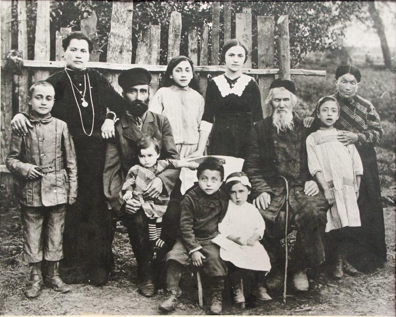 The Stein Family before deportation to Russia in 1915